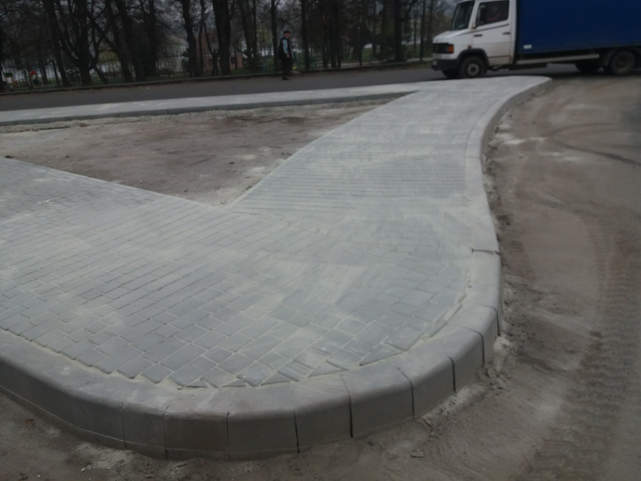 A modern traffic junction appeared in Dolyna