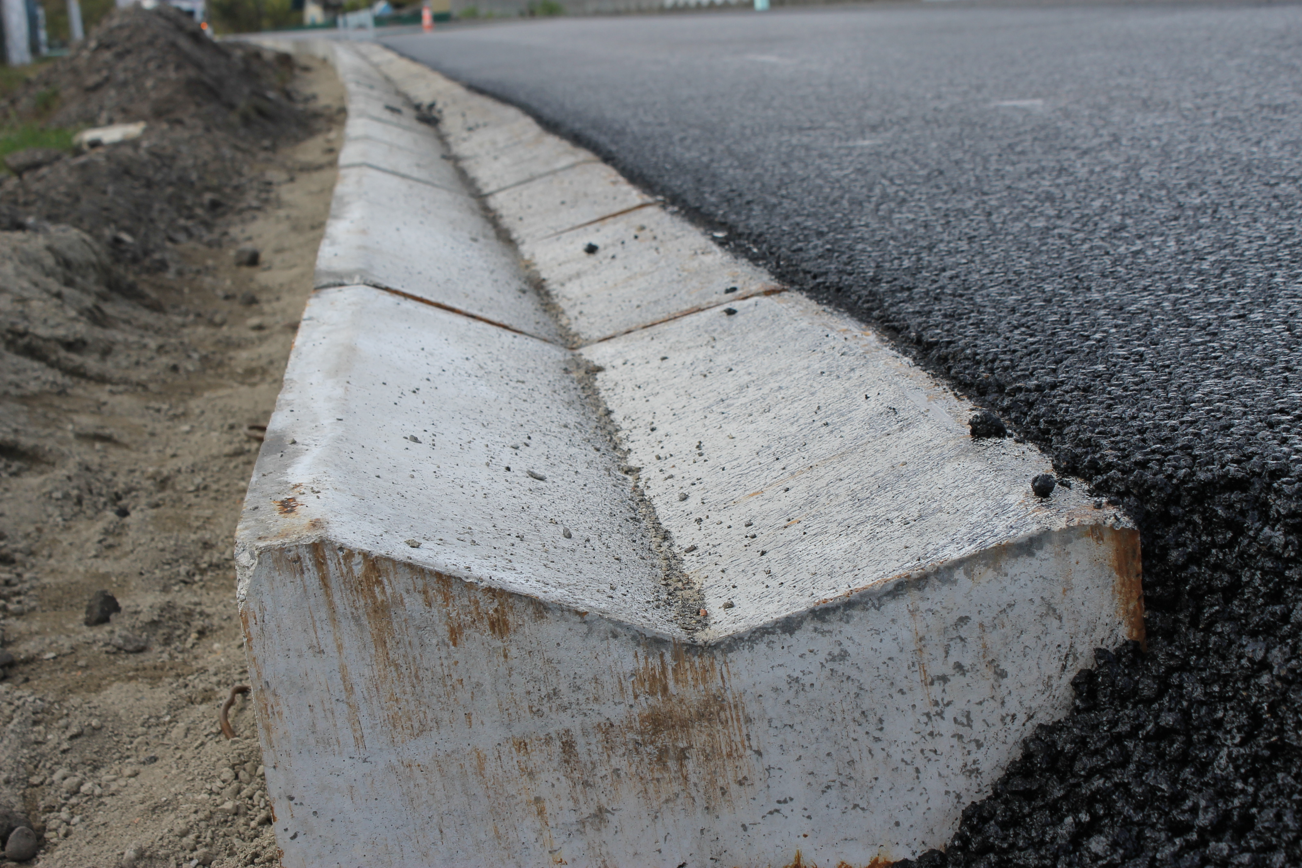 Road repairs are finishing in Zhyvachiv village