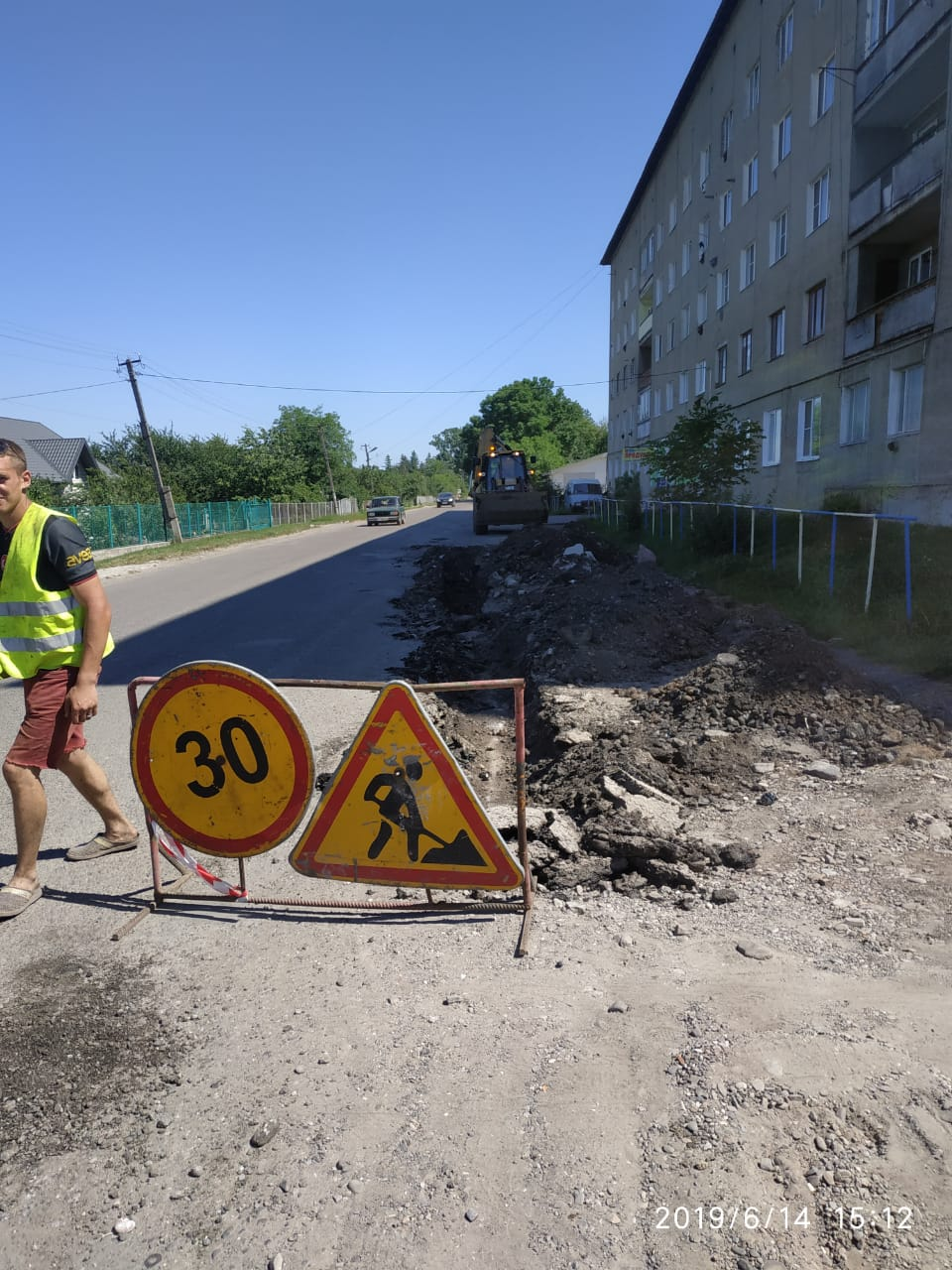 """PBS"" starts repairing the P-20 Sniatyn-Tiaziv road"
