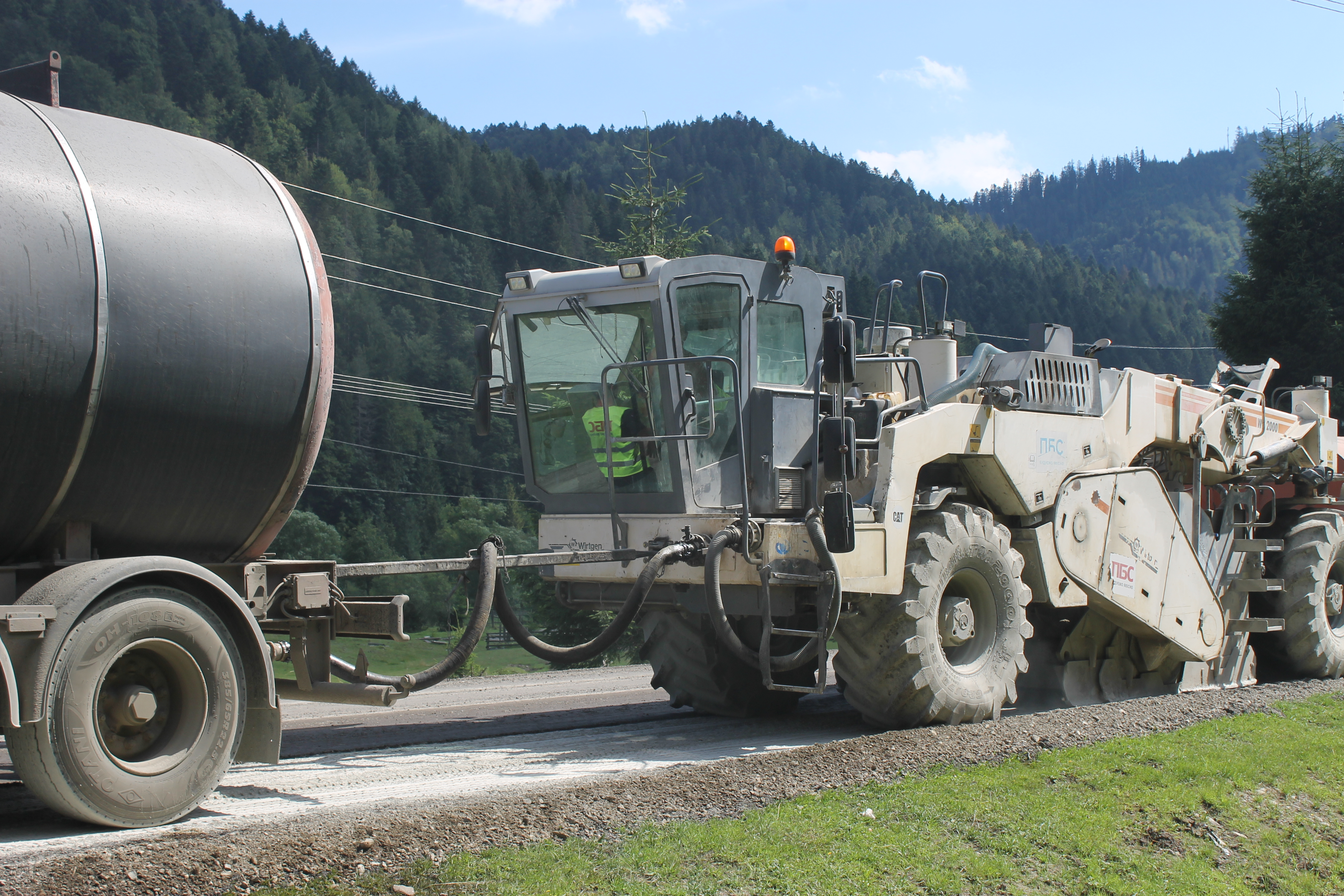 P-21: repair project extended all the way to Mizhhiria