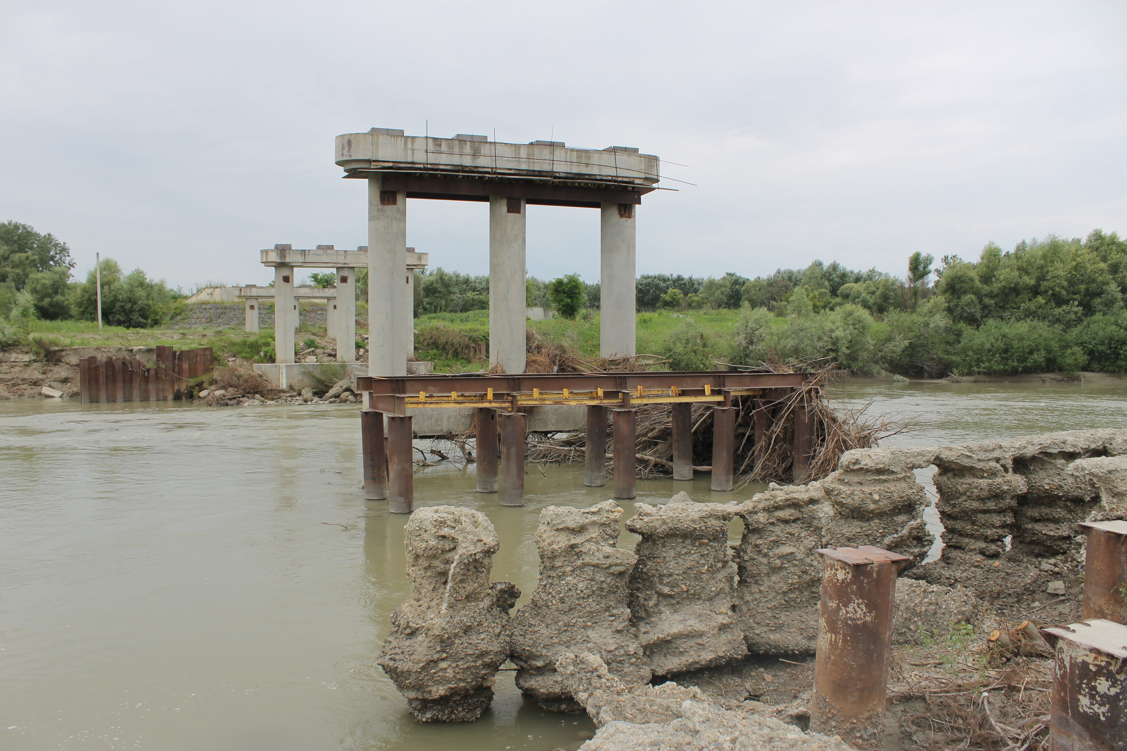 """PBS"" to rebuild the Marshyntsi bridge"