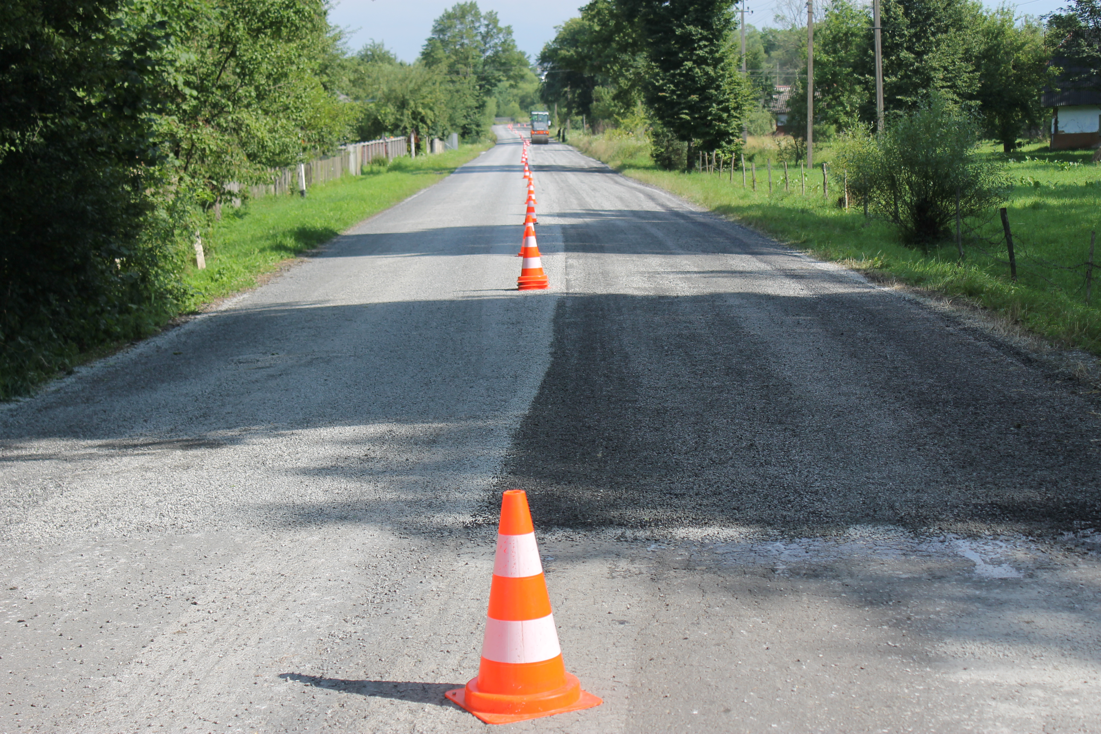 """PBS"" implements surface treatment of roads"