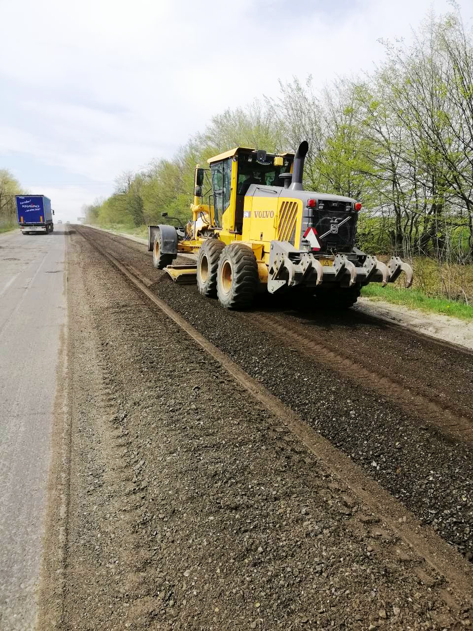 Ascention segment road repairs commenced in Krekhovychi
